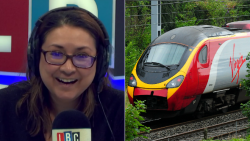 """It's Cheaper To Fly To Crete Than Go To Manchester By Train"" – LBC"