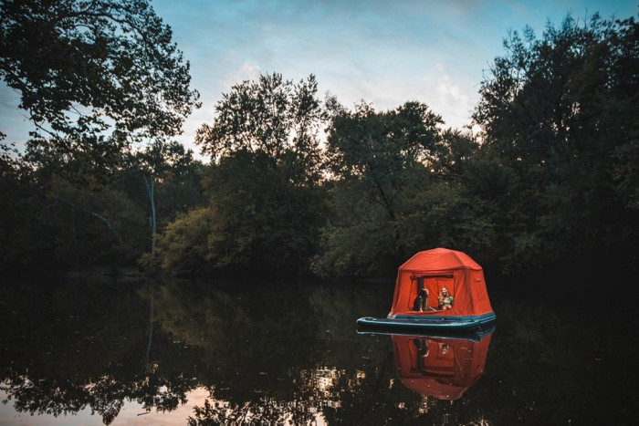 Shoal Tent Floating Shelter | HiConsumption