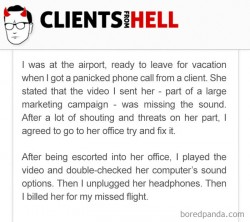 You Think Your Job Sucks? Then Take A Look At These 20+ Real Conversations With Clients From Hel ...