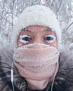 A Thermometer Just Broke At -62°C (-80°F) In The World's Coldest Village, And The Photos Are Bre ...