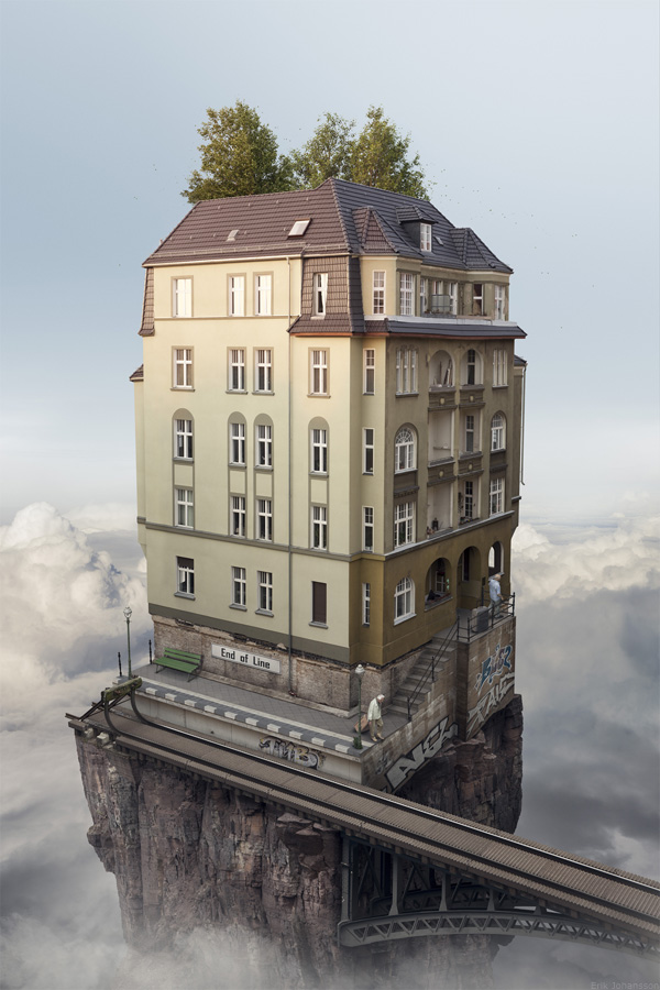 Amazing Surreal Artworks by Erik Johansson | Designwrld