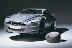 Aston Martin DBS: How James Bond crashed his Aston | Evo