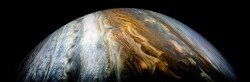 Beautiful pictures of Jupiter from the Juno probe