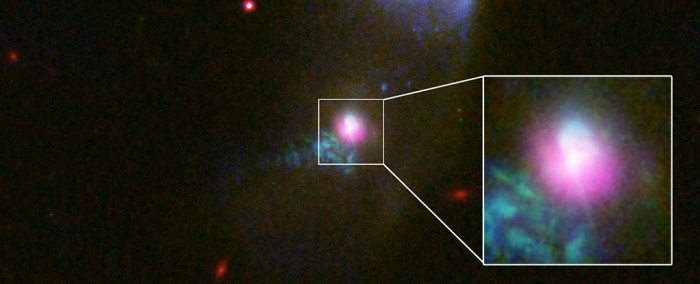 For the first time, astronomers caught a black hole spewing out matter twice