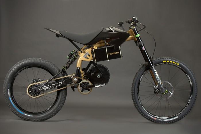 HPC Typhoon Pro Electric Mountain Bike | HiConsumption