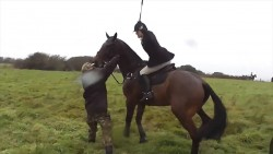 Hunter won't face charges despite being caught on camera 'hitting protester SEVENTEE ...