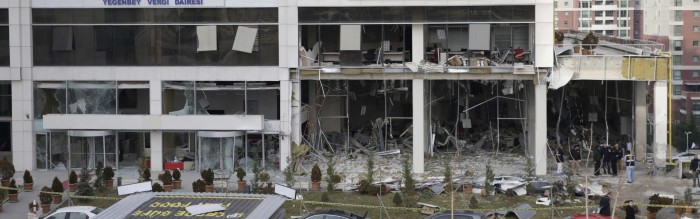 Ankara tax office bomber trained in Syria, official says | Ahval