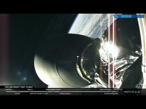 Falcon Heavy Test Flight – YouTube