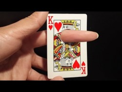 Finger Through Card – Awesome Magic Card Trick To Impress Anyone – YouTube