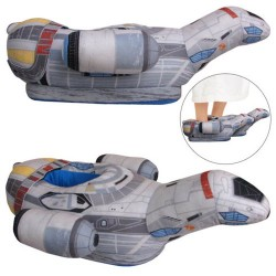 Firefly Serenity Oversized Plush Slippers – Exclusive – Toy Vault – Firefly/Se ...