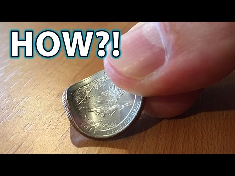 How to BEND a COIN with FINGERS! Magic Trick! – YouTube