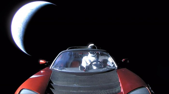 Farewell Starman and safe journey! Here's the last pic of the viral space voyager on his j ...