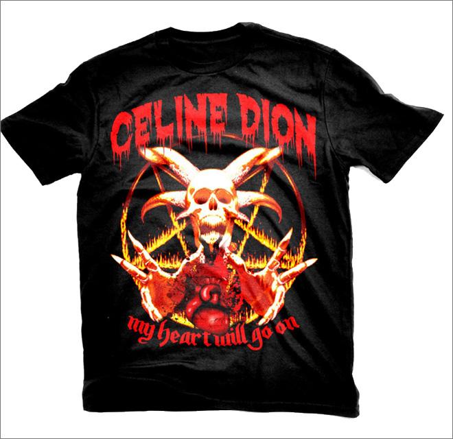 Pop Stars Gone Metal T-Shirts
