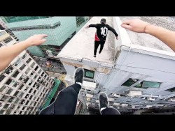Rooftop POV Escape from Hong Kong security! 🇭🇰 – YouTube