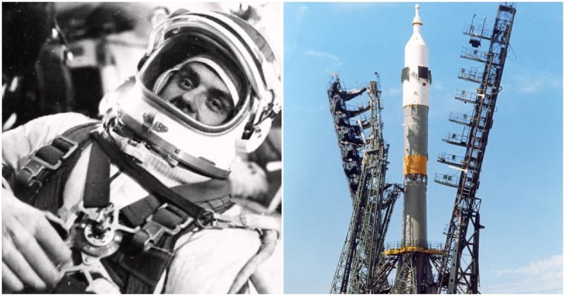 Vladimir Komarov the man who fell from space 1967 – his spacecraft hit the earth with the  ...