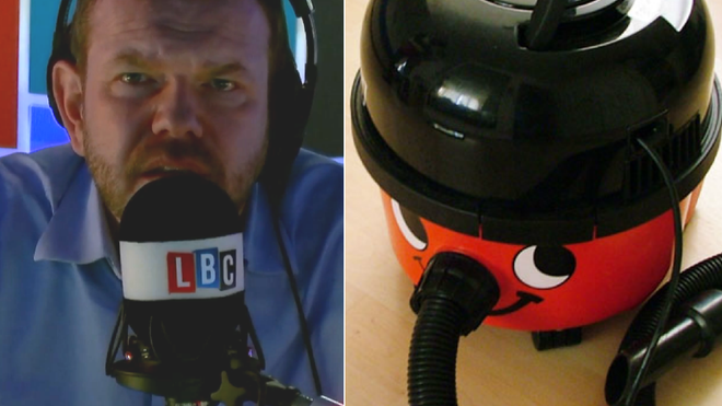"""What EU Law Are You Desperate To Lose? """"The Ban On Henry Hoovers"""" – LBC"""