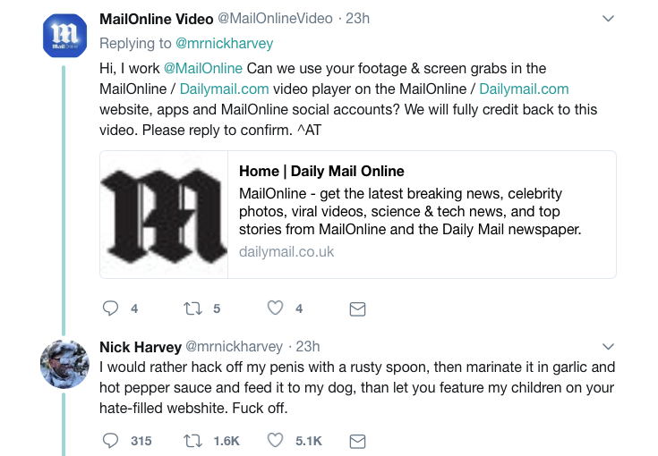 A father is being called a hero for his brutal shutdown of the Daily Mail | The Canary