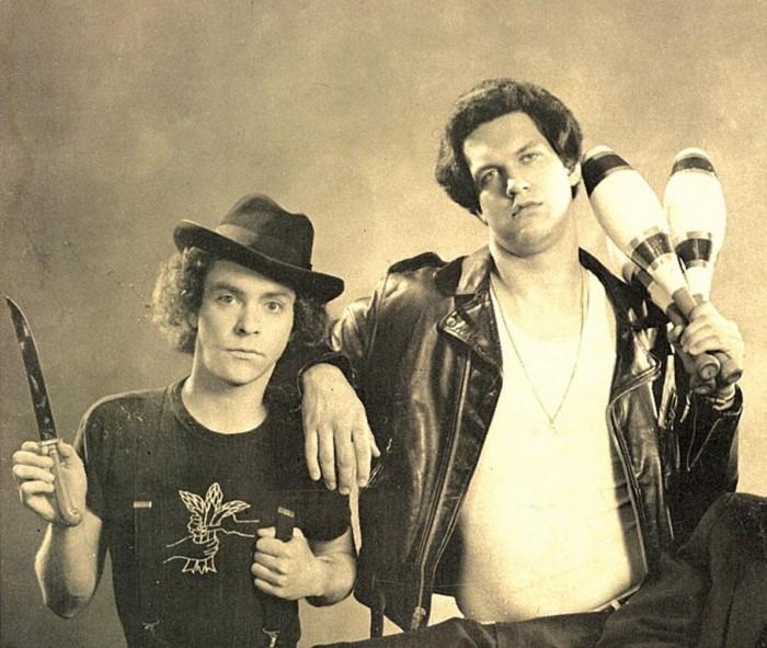 Penn & Teller circa 1980