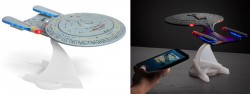 Soothing Spaceship Engine White Noise Is This U.S.S. Enterprise Bluetooth Speaker's Best F ...