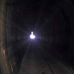 The light at the end of the tunnel