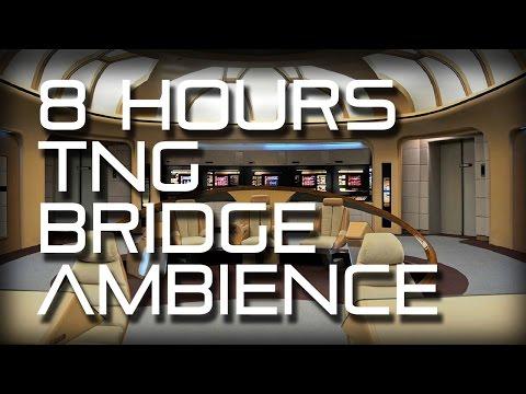 Star Trek: TNG Bridge Background Ambience **8 HOURS** (Wear headphones!) – YouTube