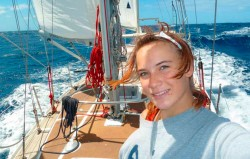 The amazing voyage of Laura Dekker, the 15-year-old who sailed round the world alone – Yac ...