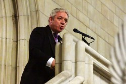 Bercow's 'bollocks to Brexit' sticker disgraces his office | Coffee House