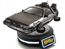 Back to The Future II Magnetic Levitating DeLorean Time Machine