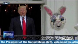 Captioned just in case you were confused which one is President
