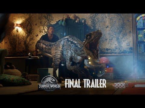 Jurassic World: Fallen Kingdom – Final Trailer [HD] – YouTube