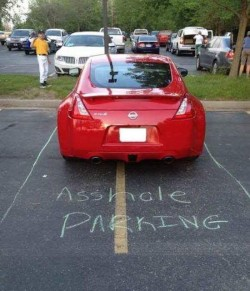 Note to self: Buy chalk