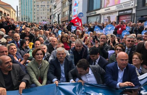 Police Prevent CHP's Sit-in Protest of State of Emergency – Tansu Pişkin – english