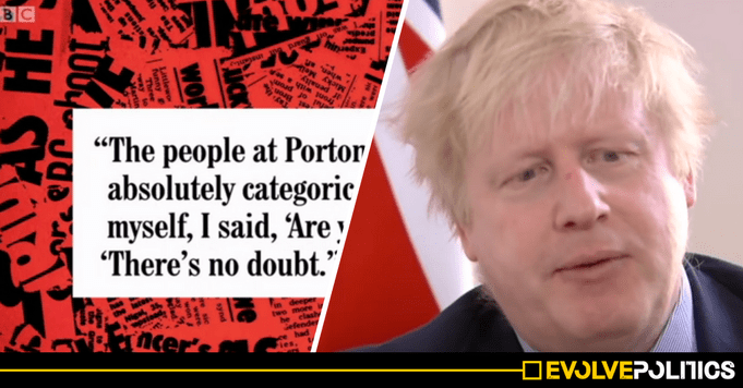WATCH: A BBC Comedy just reported Boris Johnson's Russia LIES far more truthfully than BBC ...