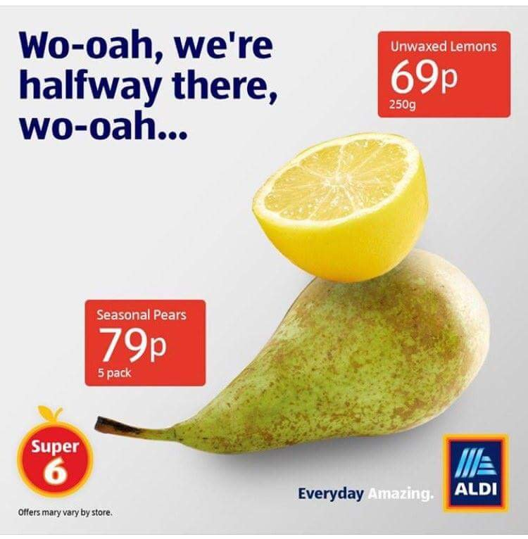 The marketing folks at ALDI are gods.