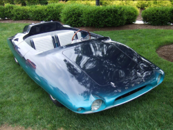 Yes, this is a car. The uniquely, beautiful 1962 Shark roadster