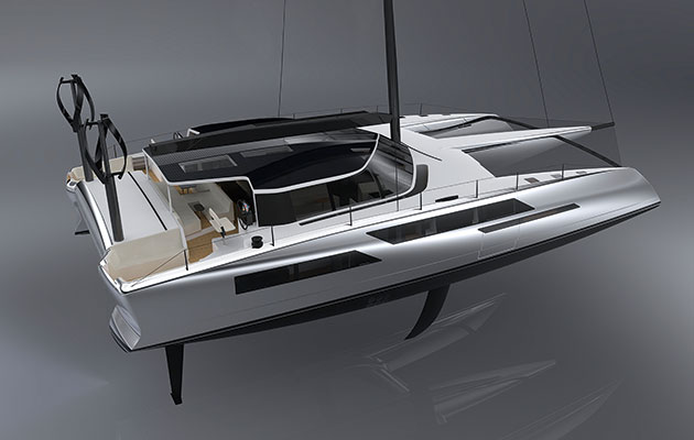 Daedalus D80 is a smart ocean supercat capable of low-emission long-distance luxury cruising &#8 ...