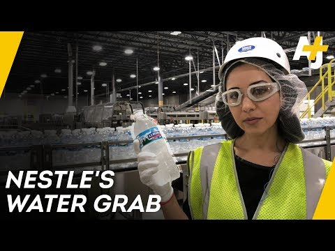 How Nestle Makes Billions Bottling Free Water | Direct From With Dena Takruri – AJ+ – YouTube