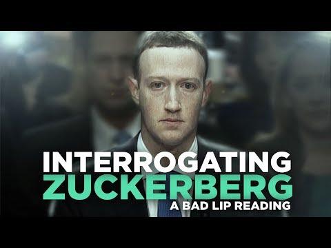 """INTERROGATING ZUCKERBERG"" — A Bad Lip Reading – YouTube"