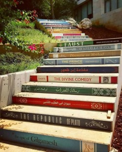 Stairs at Balamand University, Lebanon