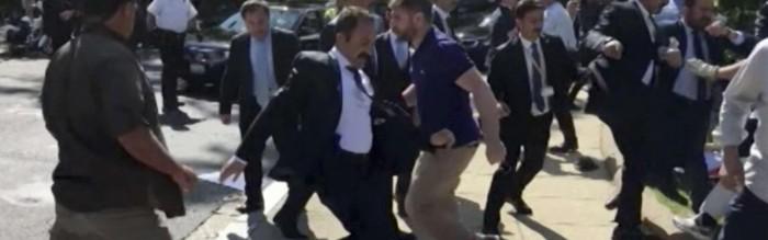 U.S. lawyers prepare $100 million lawsuit against Turkey after DC brawl | Ahval