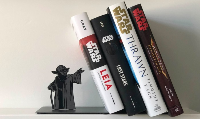 Yoda-Inspired Star Wars Bookend Uses the Force to Organize Your Shelf
