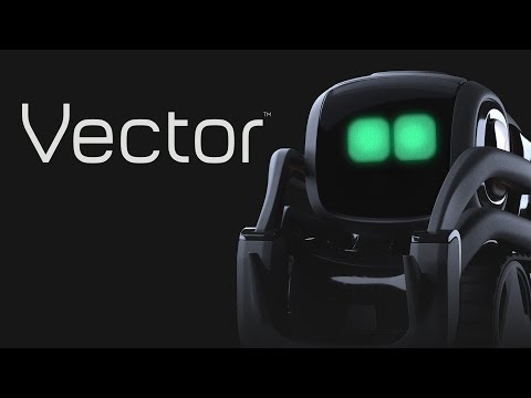 "Say hey to Vector, your first home robot. Seriously, say ""Hey Vector.""— He can hear you."
