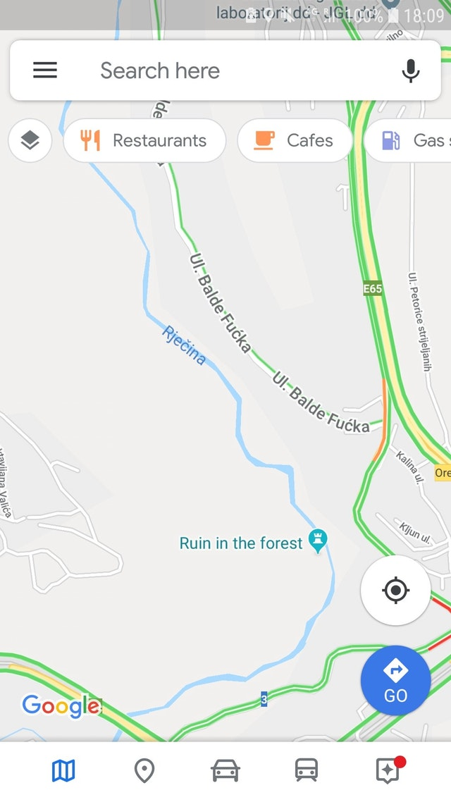 I have a road named after me in Croatia