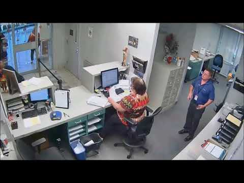 Police Officers freaked out of a guy wanting to file a report against a police officer