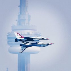 This photo from the Toronto Airshow