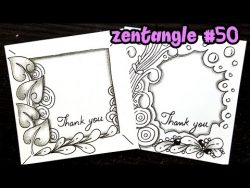 Zentangle frames
