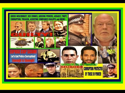 Convicted and Corrupt Police UK