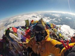 Top of Mount Everest