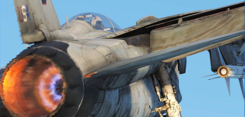 Flight sim gfx are getting so real, F-14 in DCS