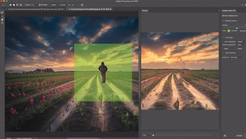 A Crash Course on Photoshop's New 'Content-Aware Fill on Steroids'